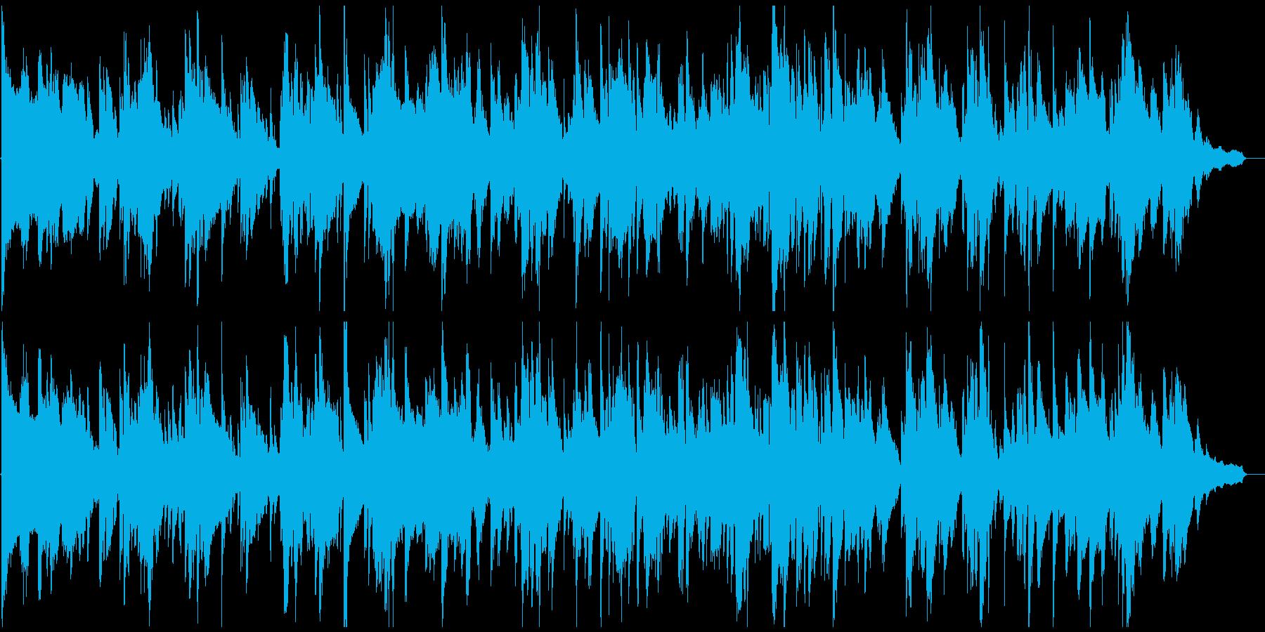 色っぽいムード、エロい艶めかしいサックスの再生済みの波形