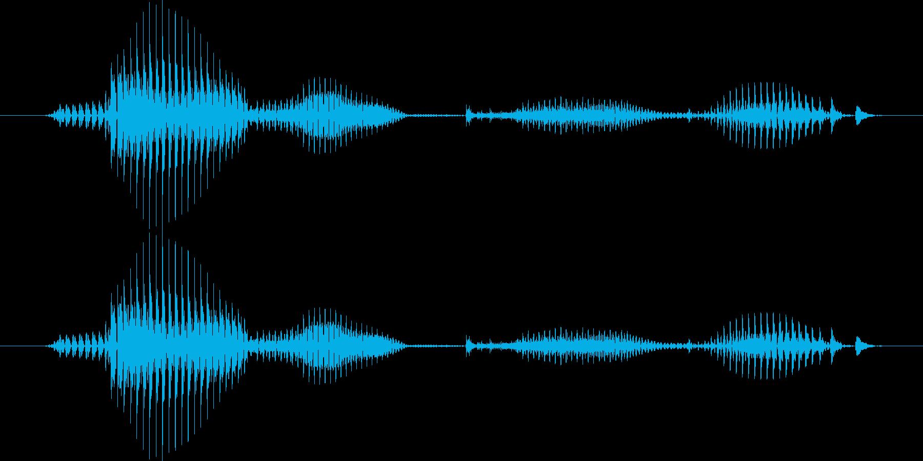 【日数・後】7日後の再生済みの波形