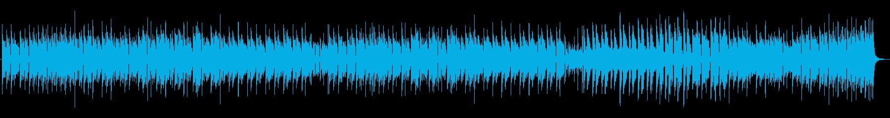 元気でかわいい鼓笛隊風エレクトロニカの再生済みの波形