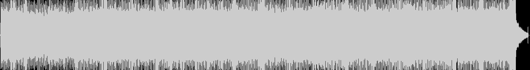 別れと旅立ちの壮大なデジタルロックの未再生の波形