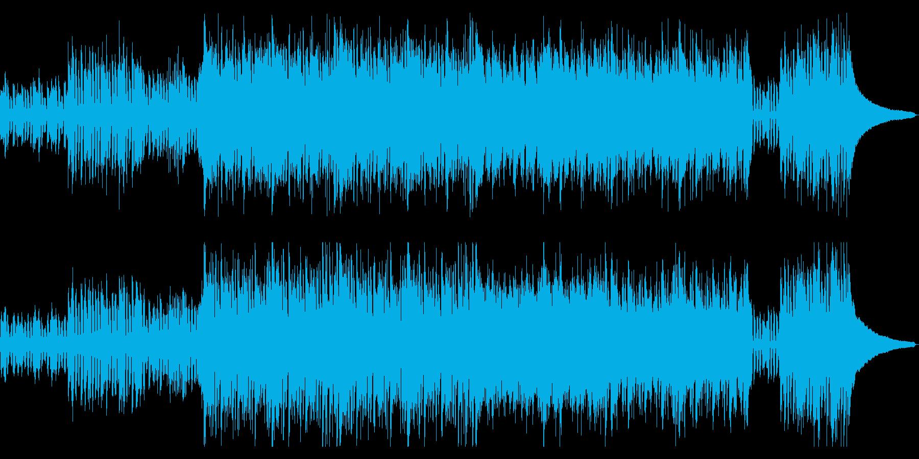 疾走感あふれるフュージョンの再生済みの波形
