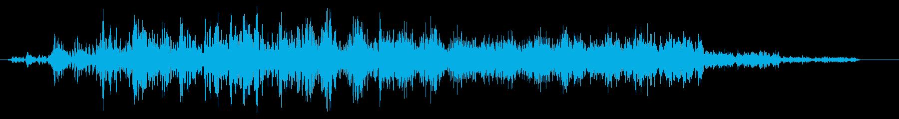 空間をループし異次元への再生済みの波形