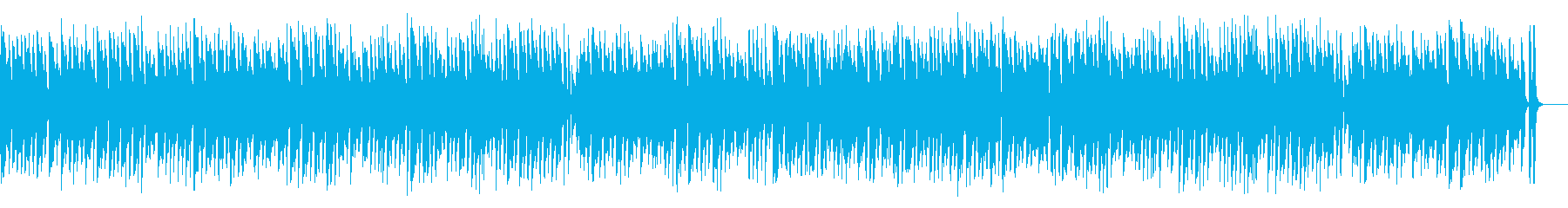 陽気で小粋アコーディオンワルツの再生済みの波形
