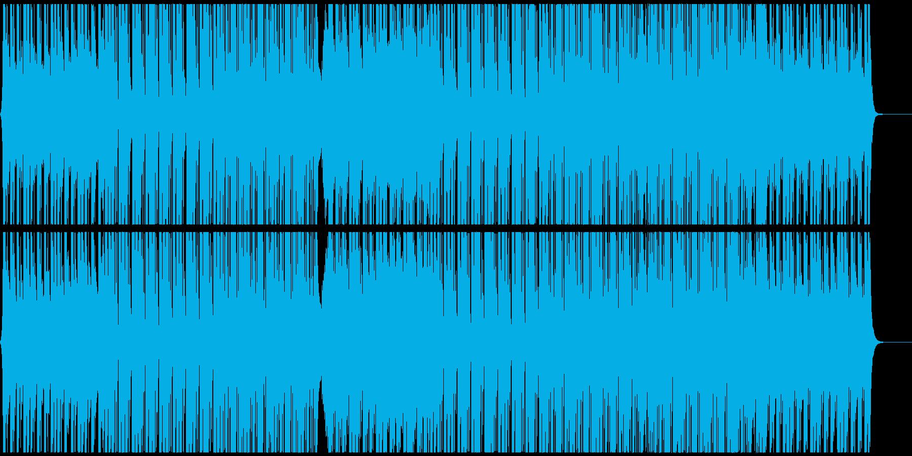 ノリの良いテクノポップ CM・企業VPの再生済みの波形