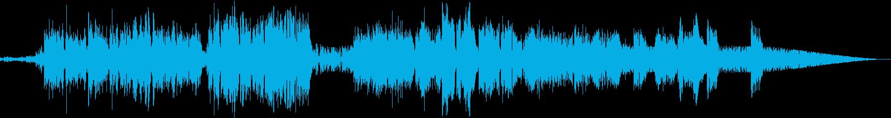 アシッド超の女性Vocalアップテンポの再生済みの波形