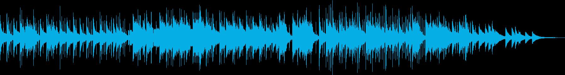 ロバートグラスパー風オシャレhiphopの再生済みの波形