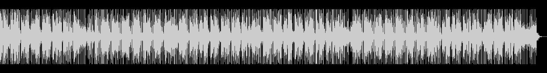 しっとりした印象のBGMの未再生の波形