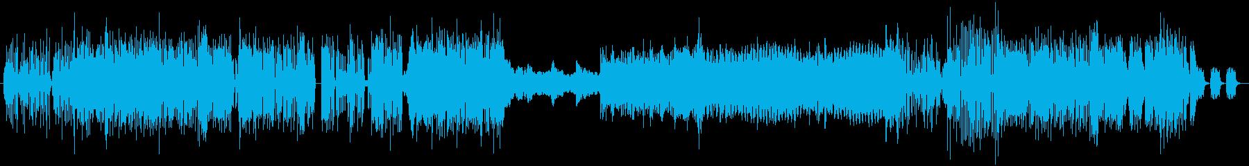 KawaiiFutureBass風の再生済みの波形