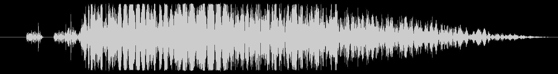 【打撃音01】パンチやキックに最適です!の未再生の波形