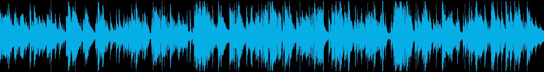 哀愁漂う切ない大人なバラード ※ループ版の再生済みの波形