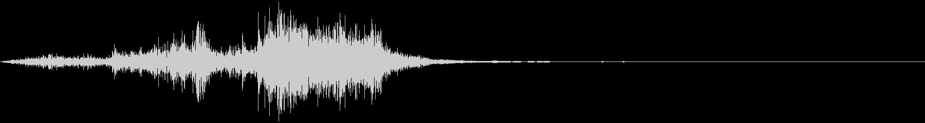 中世の剣:鞘から引くの未再生の波形
