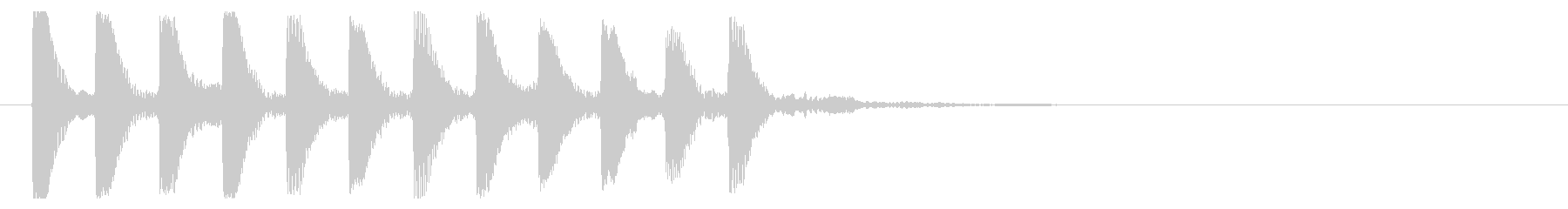 8ビット風システム音-16-1_revの未再生の波形