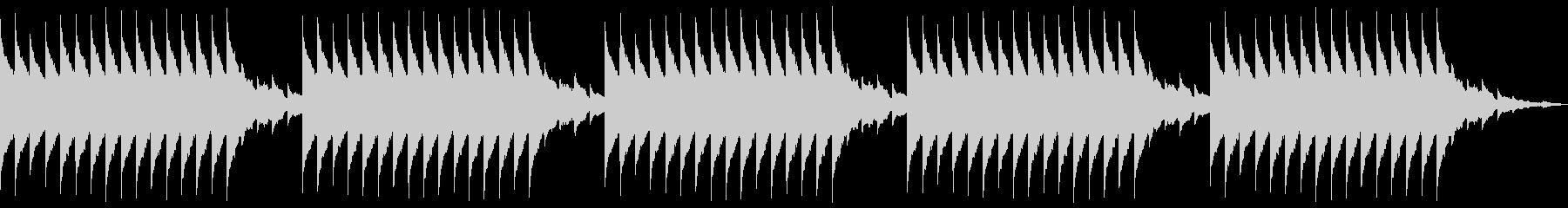 目覚ましアラーム リンリン 150BPMの未再生の波形