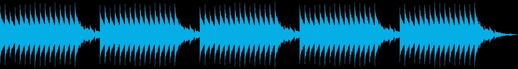 目覚ましアラーム リンリン 150BPMの再生済みの波形