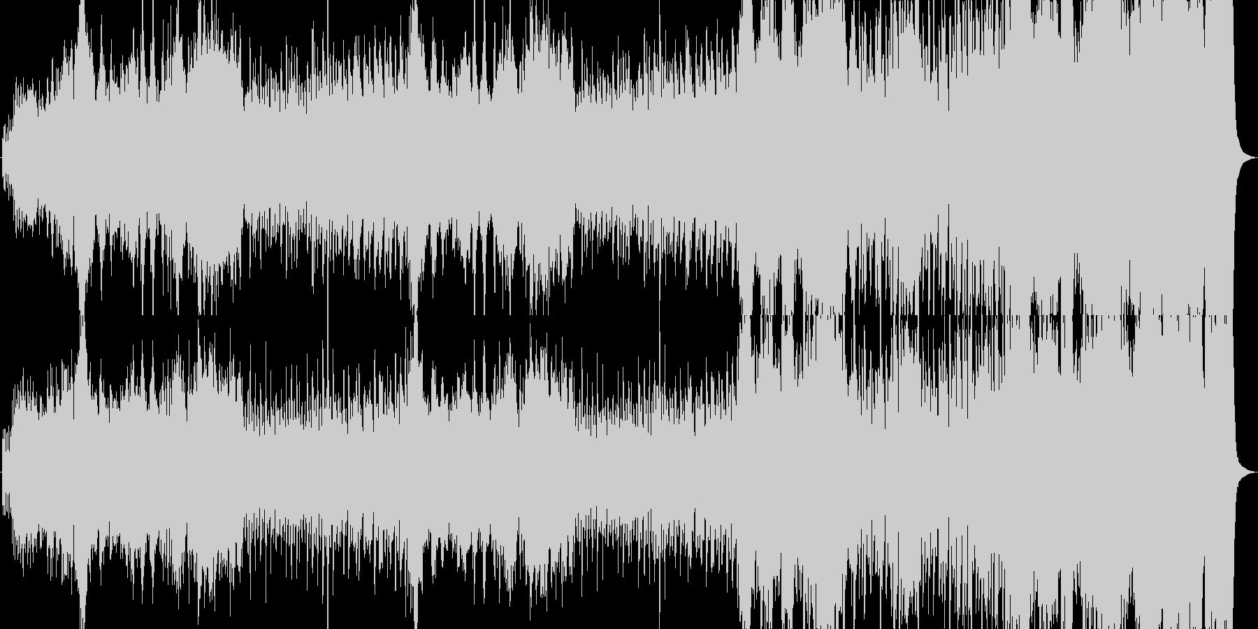 タンホイザーとアイーダのメドレーアレンジの未再生の波形
