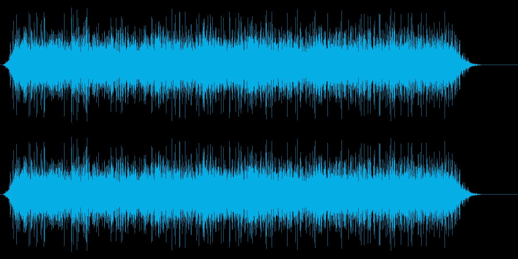 花火の再生済みの波形