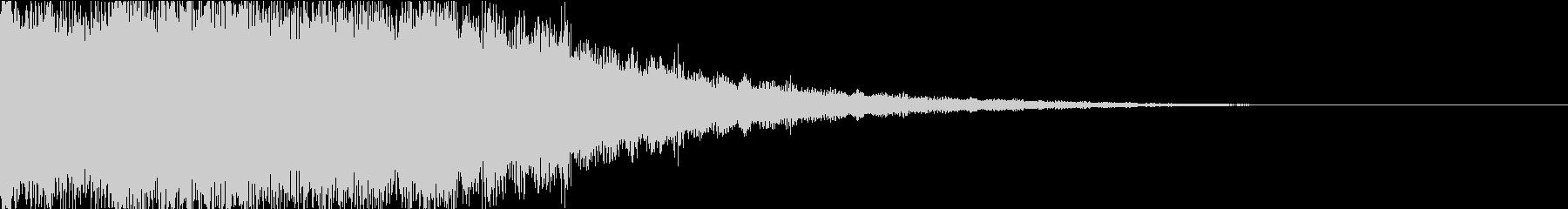 パン:ドキュメンタル風閃き音の未再生の波形