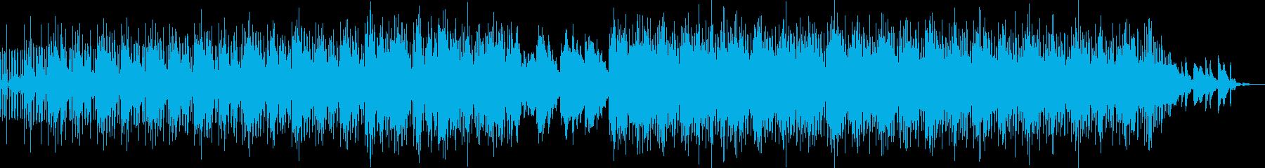心安らぐチルホップの再生済みの波形