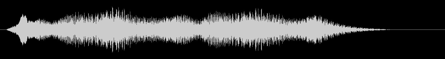 素材 揺れるドローン08の未再生の波形