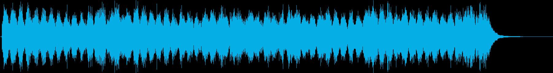 ベートーヴェン第九「歓喜の歌」コーラス有の再生済みの波形