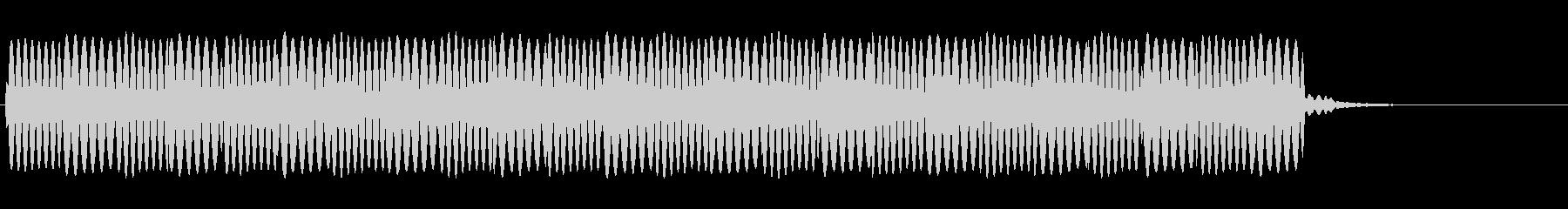 救急車のサイレン(ピーポーピーポー)の未再生の波形