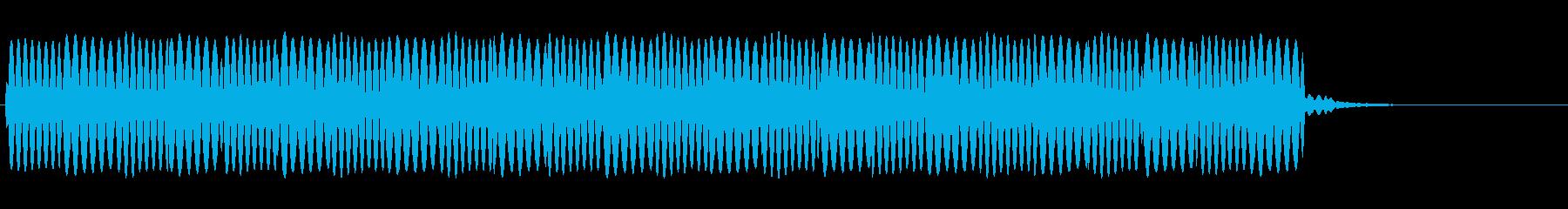 救急車のサイレン(ピーポーピーポー)の再生済みの波形