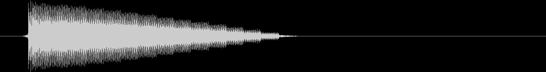 【チップチューン/ボタン/ゲームボーイ】の未再生の波形
