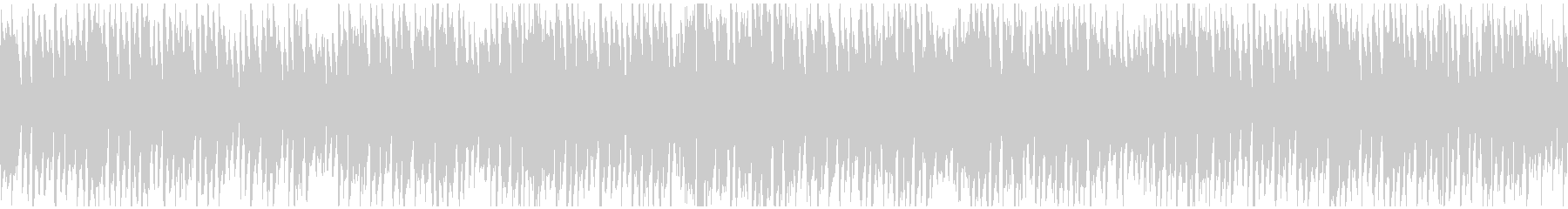 コメディ系の管楽器ポップス劇伴※ループ版の未再生の波形