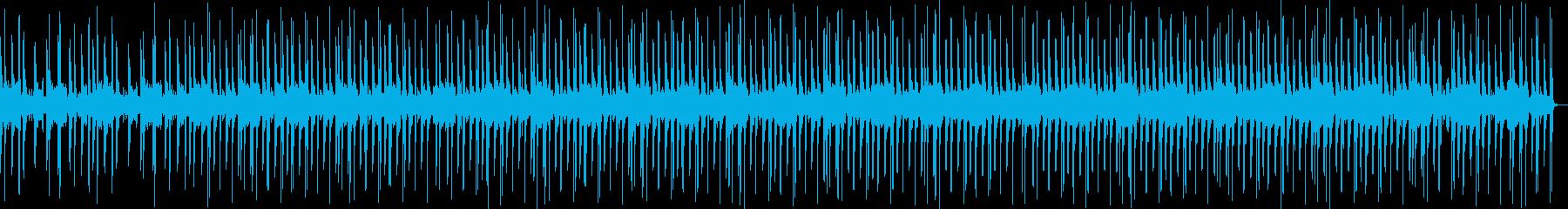 カッコイイギターフレーズのヒップホップの再生済みの波形