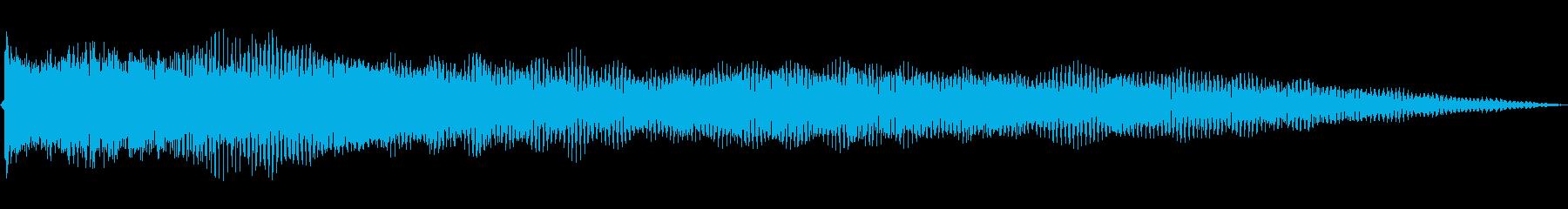 ロックブルースバンパー2の再生済みの波形
