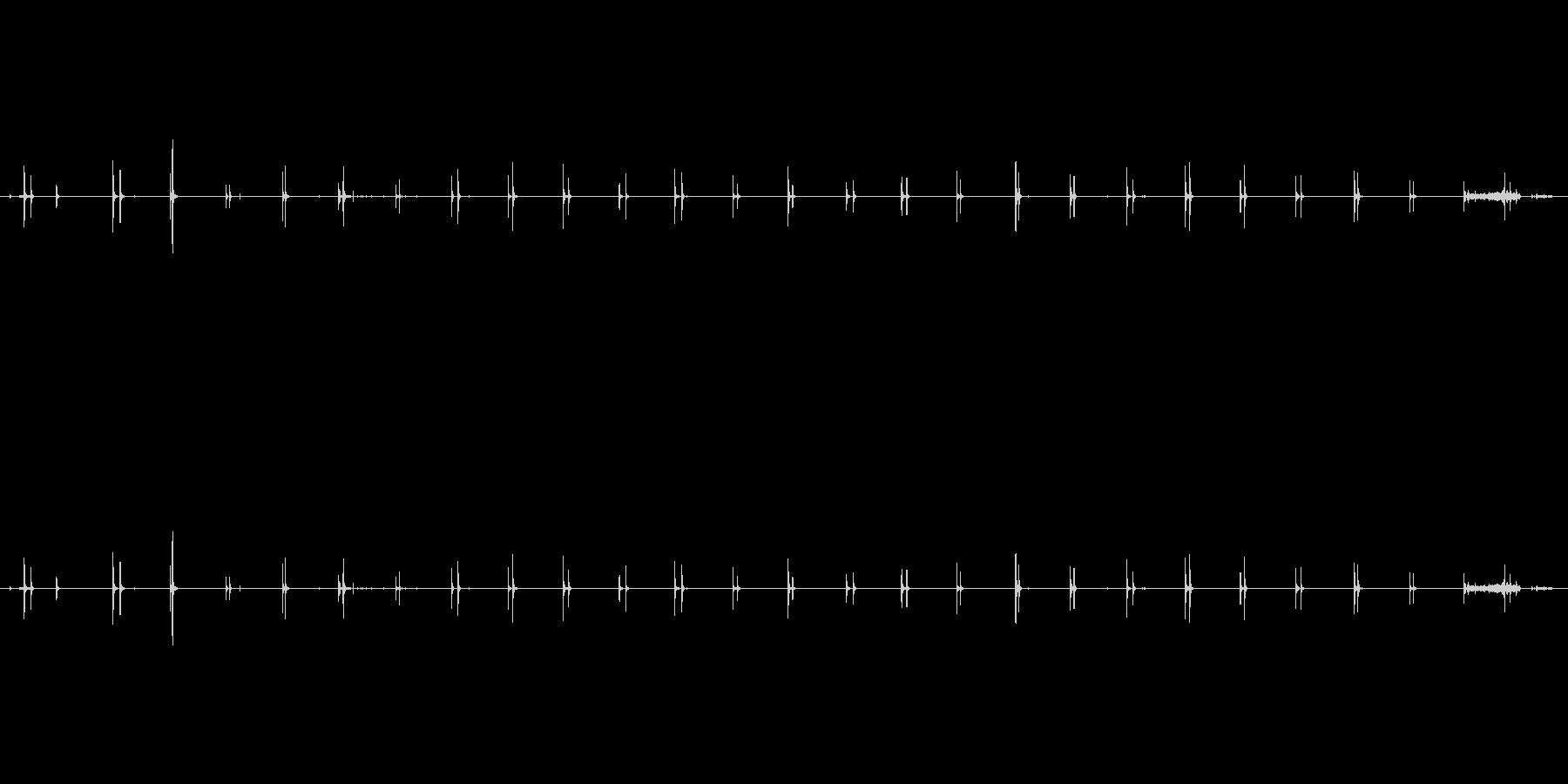 ステップ ハイヒールコンクリート2...の未再生の波形