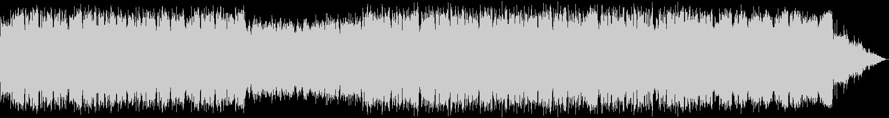 ゆったりとした笛のヒーリング音楽の未再生の波形