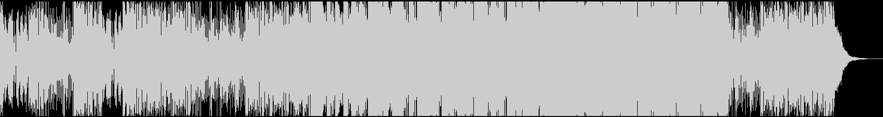 動き出す(スタートする)様子(テクノ)の未再生の波形