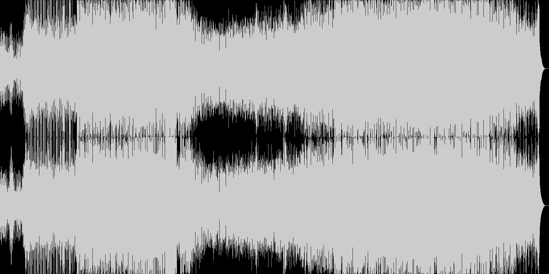 エモーショナルで近未来的なドラムンベースの未再生の波形