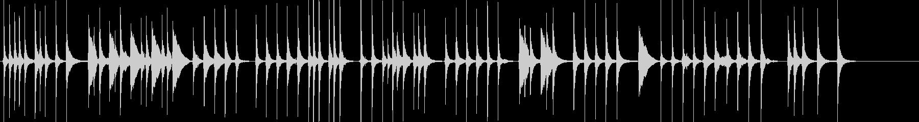 三味線84鷺娘16袖傘や生音歌舞伎妖怪鷺の未再生の波形
