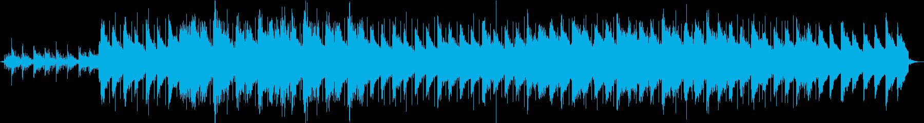 切なく、やさしいピアノのバラードの再生済みの波形