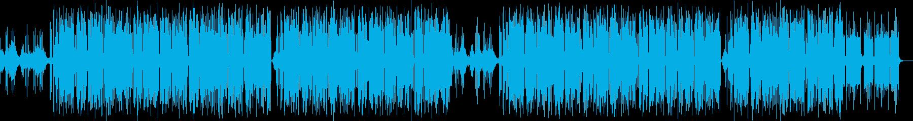 ポリリズム迷宮ダンジョン探索タイプビートの再生済みの波形