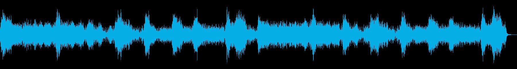 デビルナイト 闇の恐怖感を演出するBGMの再生済みの波形