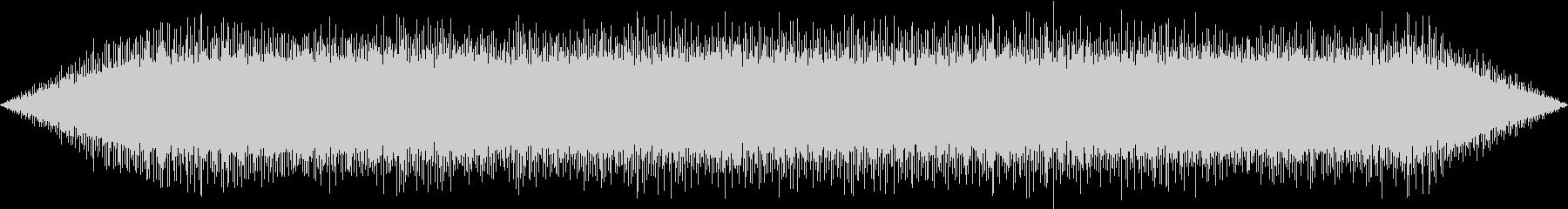 【生録音】エアコンの室外機の音 1の未再生の波形