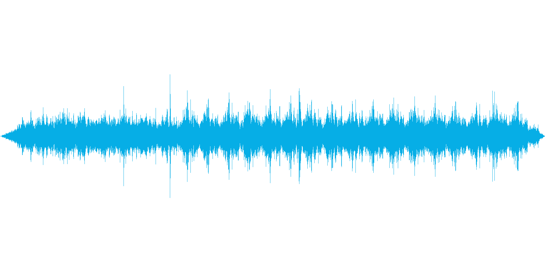機械で紙を加工している音(低速)の再生済みの波形