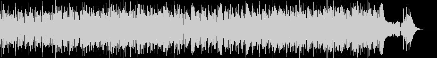 軽快なシンセメロのギターロックポップの未再生の波形