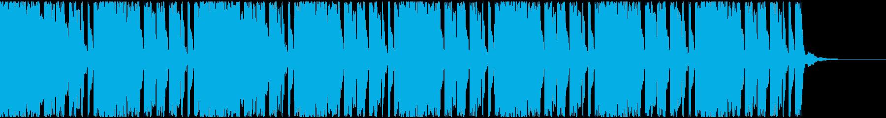 【EDM】ロング8、ミディアム1の再生済みの波形