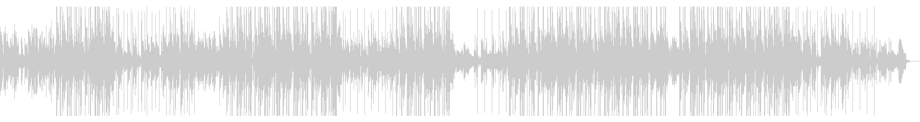 切ないピアノLOFI HIP HOPの未再生の波形