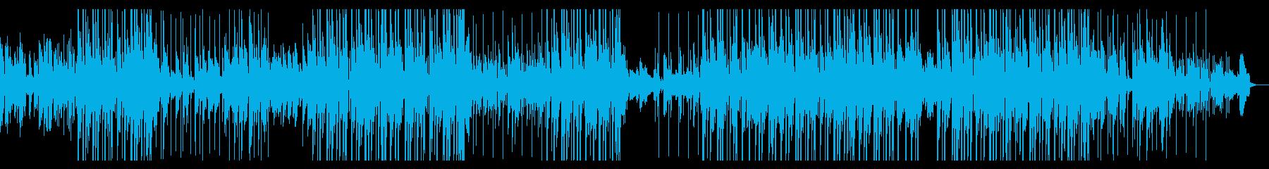 切ないピアノLOFI HIP HOPの再生済みの波形