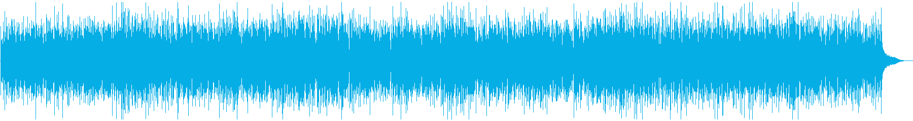 ピアノソロ、ブルーグラスBGMの再生済みの波形