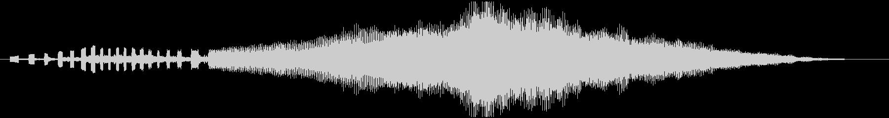 企業向けサウンドロゴ~シンセと管弦楽器~の未再生の波形