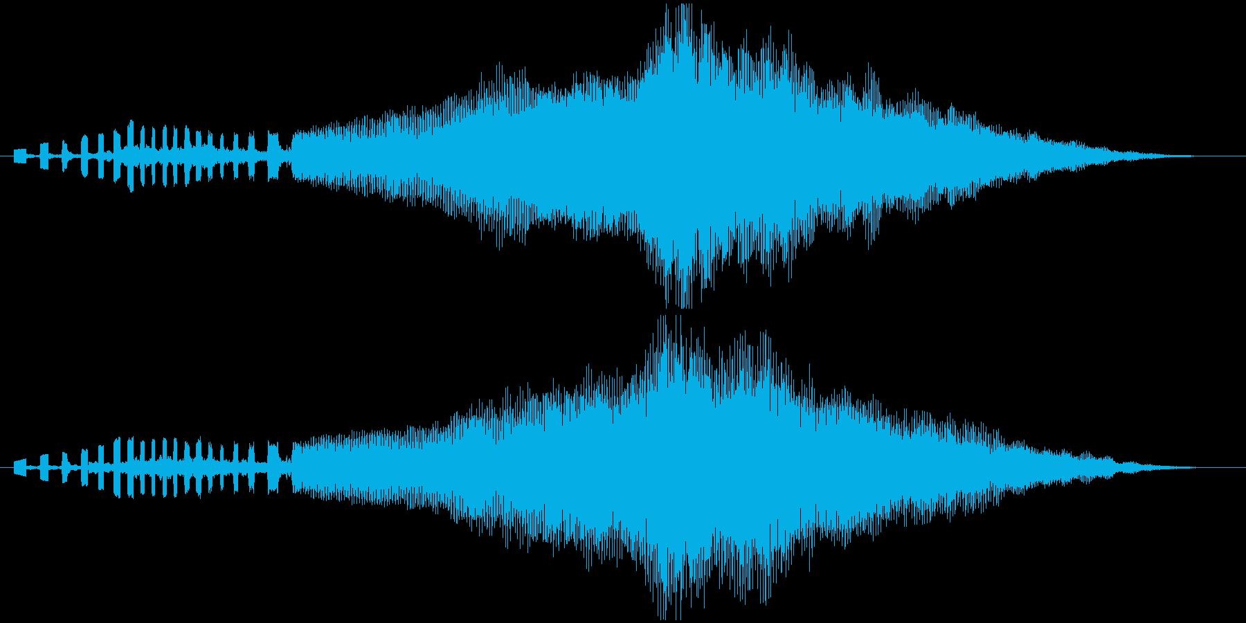 企業向けサウンドロゴ~シンセと管弦楽器~の再生済みの波形