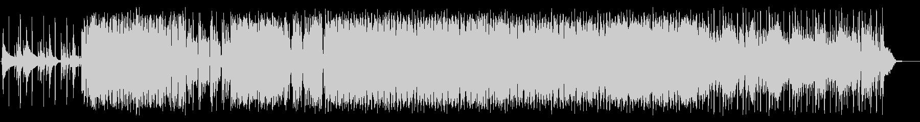 EDMっぽさもあるポップス風BGMの未再生の波形