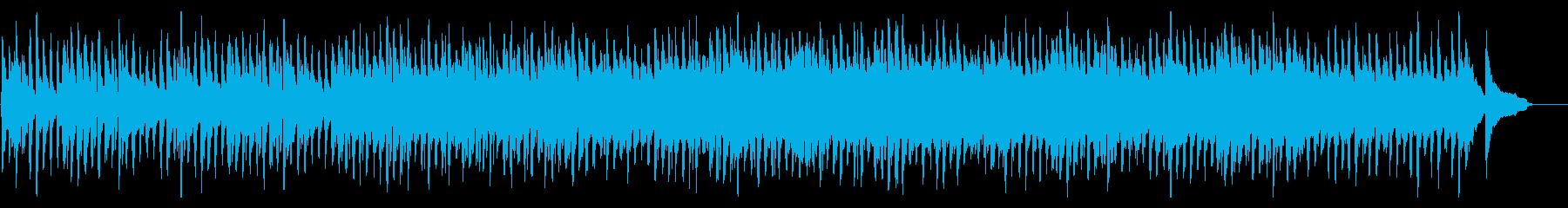 幻想的な森のようなファンタジーワルツの再生済みの波形