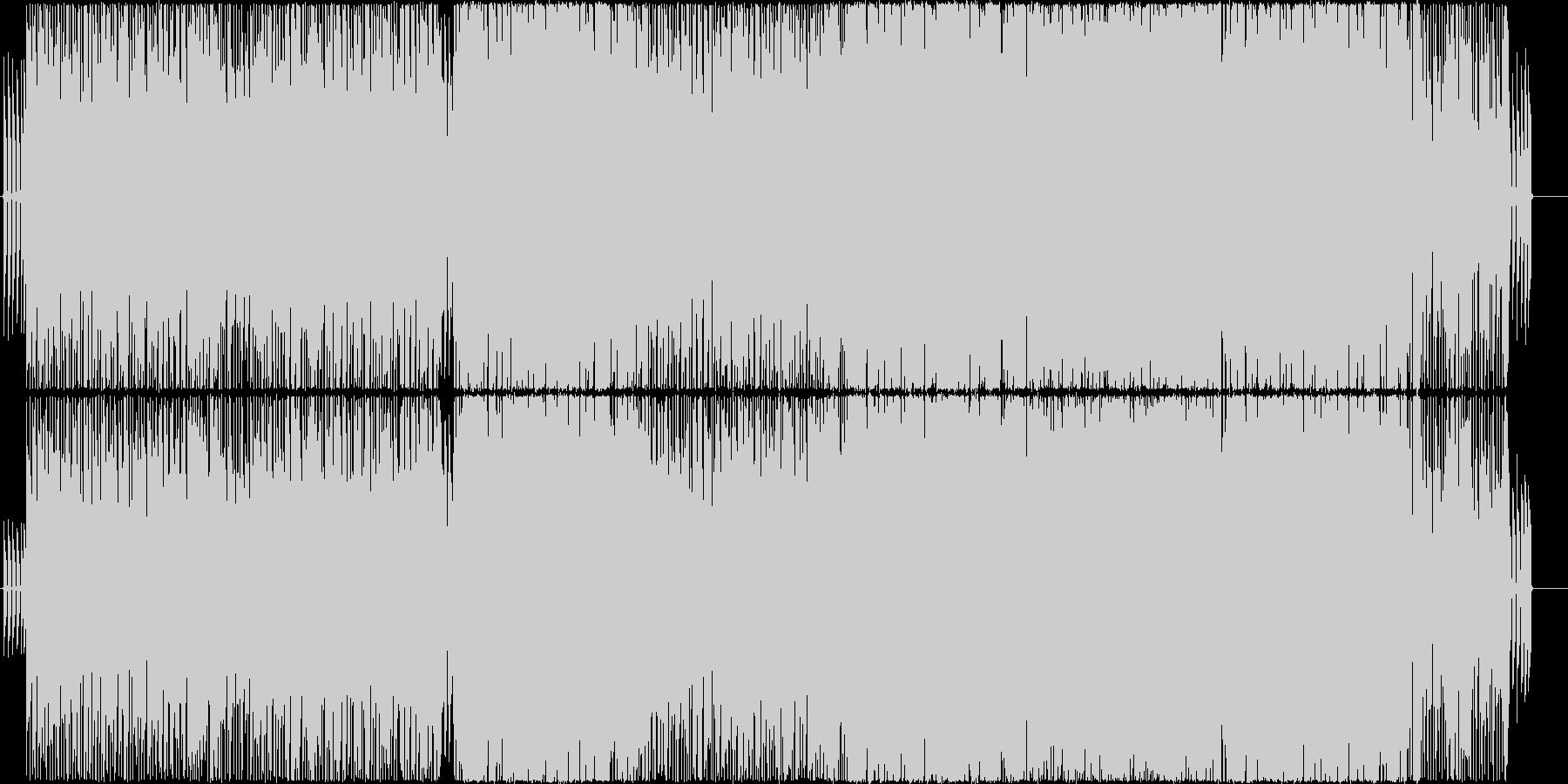 口先の未再生の波形